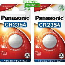 2 x Panasonic CR2354 3V Lithium Coin Cell Battery 2354, DL2354, BR2354, 2028 EXP
