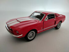 Ford Mustang Shelby GT 500 1967 rouge bandes blanches 12,5cm neuve