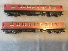 OO Gauge Lima Mk1 First Class 5051 & 3rd 2257