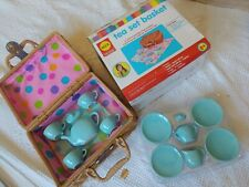 Alex Pretend & Play Tea Set Basket Open Box