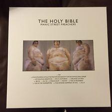 SIGNED MANIC STREET PREACHERS HOLY BIBLE 20 LP 4CD BOOK Box Set
