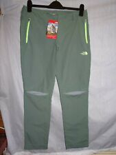 Ladies The North Face Green LAUREL Walking Trousers *Size 12R* BNWT **RRP £75**