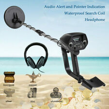 Metal Detector Gold Digger Hunter Deep Sensitive Waterproof Coil +Headphone A7I9