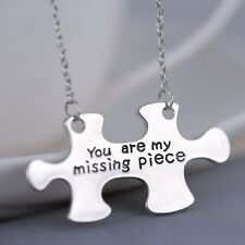 You Are My Missing Piece Puzzle Necklace Valentines Mothers Day Anniversary Gift