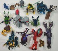 Transformers Beast Wars Transmetal Lot Of 12 Assorted