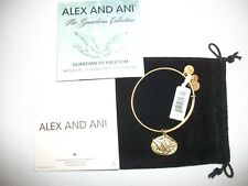 ALEX AND ANI Guardian Of Freedom Bracelet Russian Gold NWT