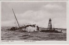 1907 unused postcard of wreck of the SS Berlin