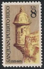Scott 1437- Morro Castle, San Juan, Puerto Rico- MNH 6c 1971- unused mint stamp