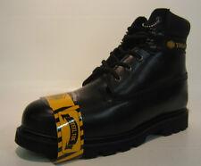 wl-02- hommes Truka cuir noir embout en acier travail Bottines UK taille 9