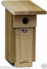 Kettle Moraine Woodworking Eastern Bluebird Nestbox Bird House  -3  PACK BBNB