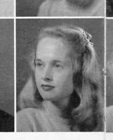 "TIPPI HEDREN High School Yearbook SENIOR Year HITCHCOCK ""The BIRDS"""