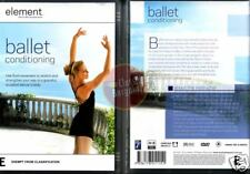 BALLET CONDITIONING yoga Element Mind And Body NEW DVD (Region 4 Australia)