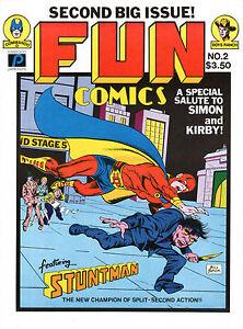 FUN COMICS NO. 2 PARAGON PUBS 1981 SIMON-KIRBY TRIBUTE by Bill Black, STUNTMAN
