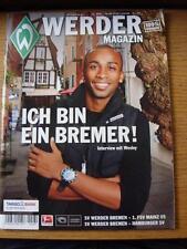 18/09/2010 Werder Bremen Magazine/Programme: Covers Games v 1 FSV Mainz 05 & Ham