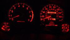 7pcs red LED Dash Cluster Light Kit for Subaru Impreza WRX MY94 MY95 MY96 MY97