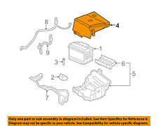 Gm Oem Battery Cover 25901331