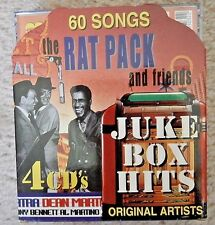 The Rat Pack and Friends Juke Box Hits 60 songs 4 cds