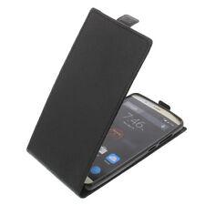 Tasche für Elephone P8000 Smartphone Flip-Style Schutzhülle Case Schwarz