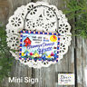 Grammy & Grampy * Mini Sign Wood Ornament Family DecoWords USA New in Pkg Decor