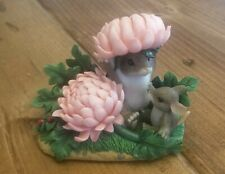Fitz & Floyd Charming Tails Figurine YOUR A VERY SPECIAL MUM Mice Floral #89/120