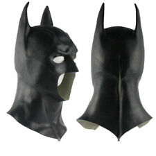 Masque Complet Batman avec Capuchon Adulte Chevalier Costume Cosplay Halloween