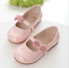 Fashion Baby Girls Flower Princess Shoes Party Dress Kid Spring Dancing Shoes
