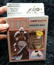 STAR WARS RETURN OF THE JEDI  SPEEDER BIKE  MIRROR MODELS KIT 1984 VINTAGE