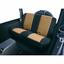 Jeep Wrangler Cj Yj 80-95 New Rear Seat Cover Fabric Tan X 13280.04