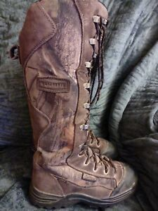 """Lacrosse Youth Venom Scent HD 12"""" Next G-1 Brown Camo Hunting Boots Sz 5"""