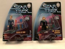 Star Trek Playmates 7 of 9 Dr. Crusher International UK Edition 1999 RARE