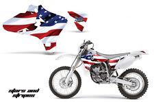 AMR Racing Yamaha YZ 250F/450F Shroud Graphic Kit MX Bike Decals 03-05 USA FLAG