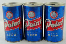 Qty. 3 Point Special Beer Can Steel Vintage Top Opened Stevens Point Free Ship