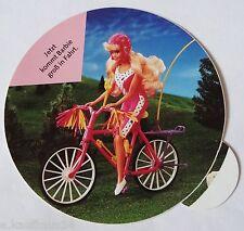 Aufkleber BARBIE Fahrrad Mountainbike Mattel Puppe Doll 80er Sticker Autocollant