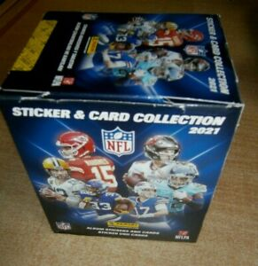 Panini NFL Stickers & Card Collection 2021: Quantity 10, 25, 50 packs or Box