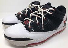 Nike Air Zoom LeBron LN3 Concord White Black Red 314010-161 Sz 12