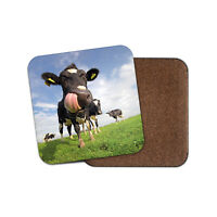 Dairy Cow Coaster - Friesian Cattle Farm Farmer Funny Animals Mum Gift #15595