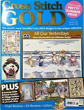 Cross Stitch Gold Magazine Issue 15 2003 UK ~ Counted Cross Stitch