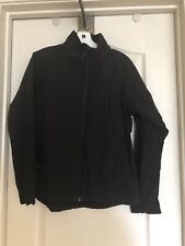 Black Diamond women jacket size M soft shell Black fitted zip up outdoors
