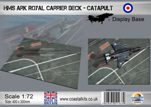 Coastal Kits 1:72 scale HMS Ark Royal Catapult Display Base