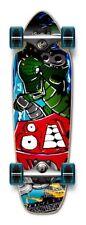 NEW ROBOT Graphic Complete Longboard Mini Cruiser / Banana Cruiser skateboard