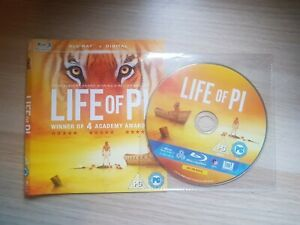 Life Of Pi (Blu-ray, 2013)** DISC AND COVER ONLY **
