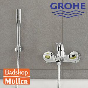 GROHE Eurosmart Cosmopolitan Badewannen Wannenarmatur Bad Brause+Halter 32832000