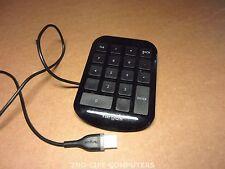 Targus AKP10EU USB Numeric Keypad / Number Pad for PC & MAC- Black USB + CABLE