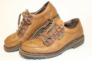Mephisto Mens Size 9 Leather Lace Up France Made Casual Comfort Shoes 824010752