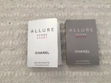Duo Chanel Allure Sport Spray Samples Comes With Chanel Allure Sport Edt And Ed