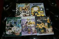 5 Ros Stallcup Gran's Decorative Painting Tole Pattern Book Lot