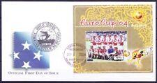Micronesia 2004 Ms FDC, EC Football, Denmark 1992, Sports (S3n)