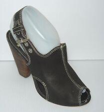 Bernardo 3309 Women's Leather Cuban Heel Dress Sandals Shoes Sz 7M