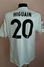 2009 - 2010 Real Madrid Centenary Jersey Shirt Camiseta Home HIGUAIN #20 Adidas