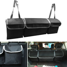 Multi-use High Capacity Car Trucks Seat Back Cargo Trunk Organizer Bag Universal